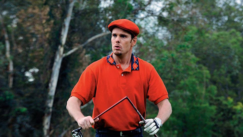 Stik golf patah