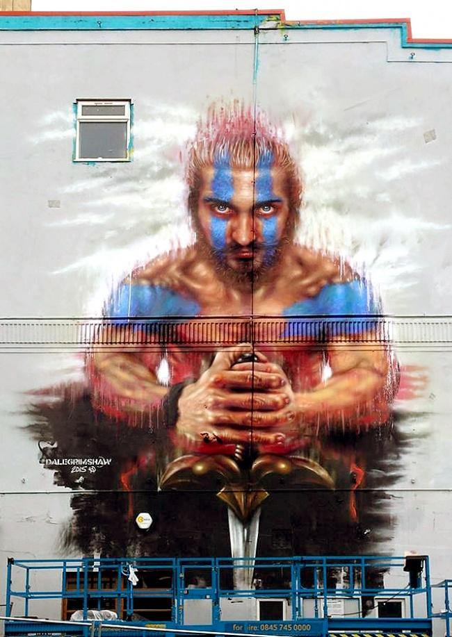 7 Mural dengan nilai seni tinggi, kerennya kebangetan