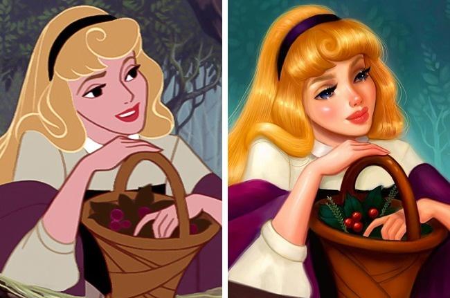 12 Foto Putri cantik Disney yang udah diremake ini bikin hati meleleh