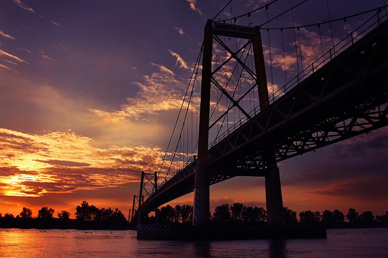 Jembatan Barito, Banjarmasin.