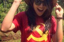 Heboh Putri Indonesia pakai kaos palu arit, apa sih maknanya?