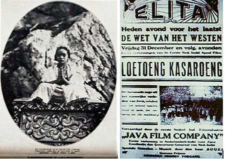 Ini film pertama yang diputar di bioskop Indonesia