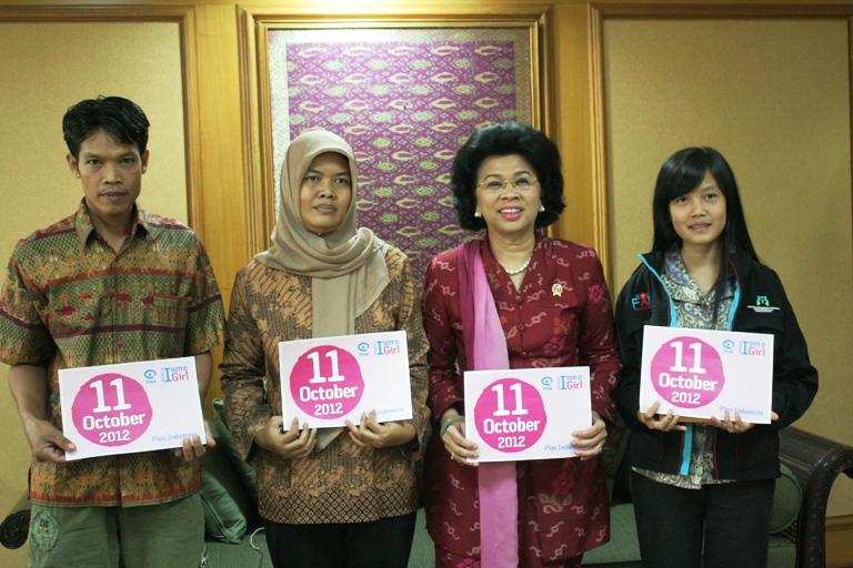 Hebat, gadis desa ini jadi duta anak internasional dari Indonesia