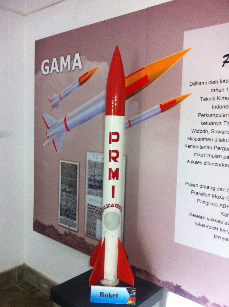 Kisah roket pertama Indonesia yang bikin bangga  Bung Karno