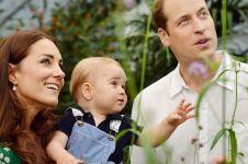 Begini cara Kerajaan Inggris sambut anak kedua Pangeran William
