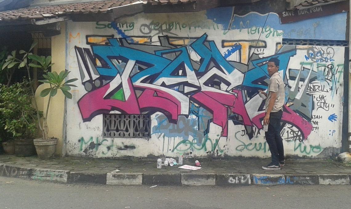 Curhat Seniman Graffiti Karyanya Dirusak Meski Sudah Keluar Modal