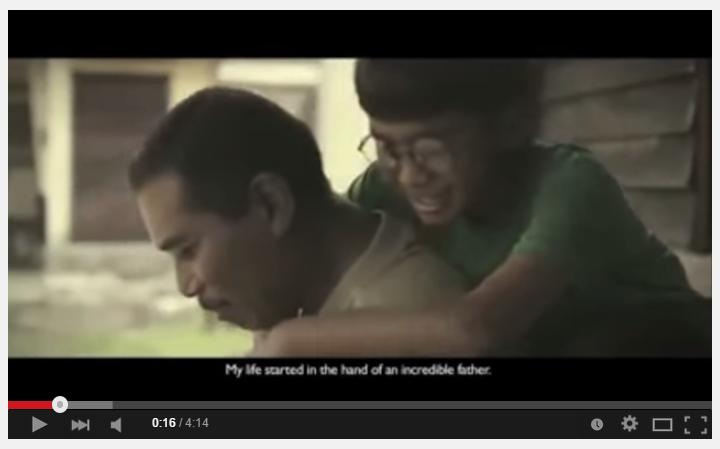VIDEO: Pengorbanan seorang ayah kepada anaknya yang durhaka