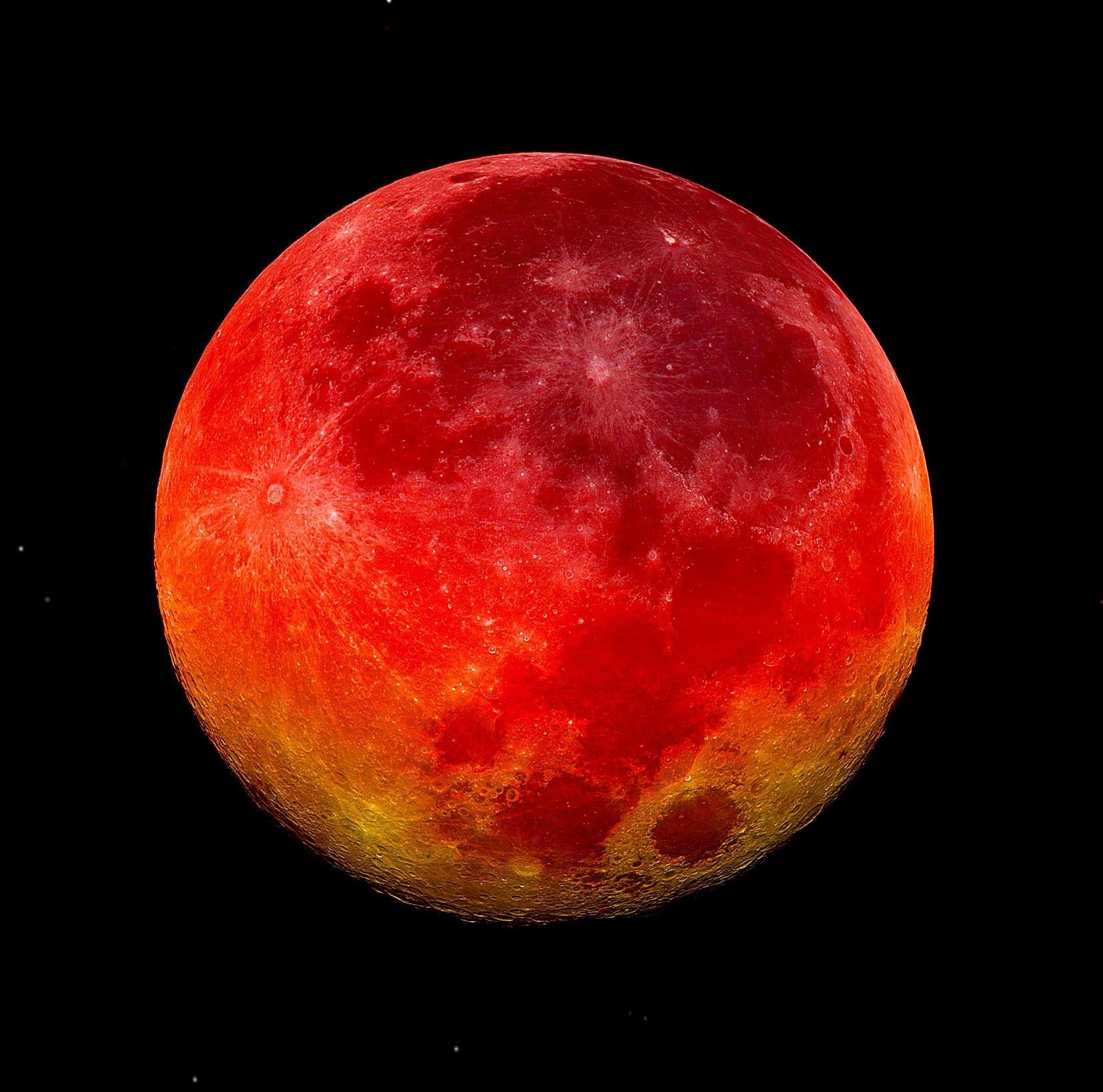 "Ini jam terbaik menyaksikan gerhana bulan ""blood moon"" hari ini"