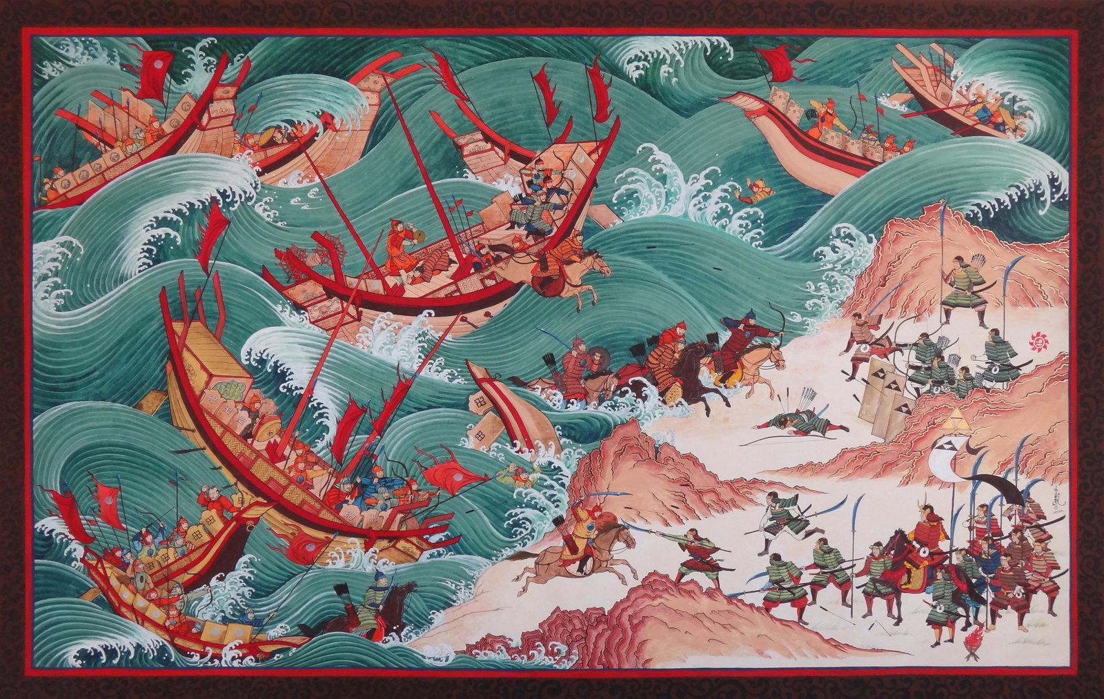 Topan Kamikaze selamatkan Jepang dari serbuan Kubilai Khan