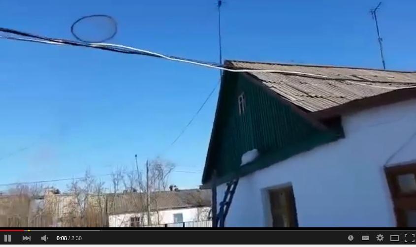 Heboh benda misterius terbang di langit Kazakhstan, diduga UFO
