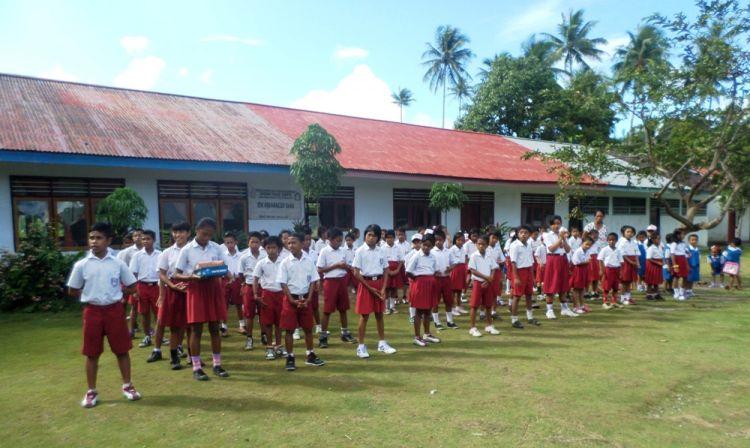 Kisah anak-anak perbatasan RI-Filipina yang rindu upacara bendera