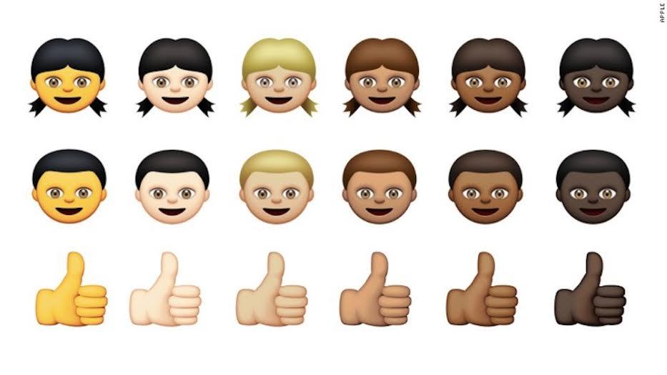 Wow, Apple rilis 300 emoji baru dan bisa pilih ragam warna kulit