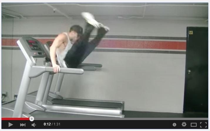 VIDEO: Cowok ini ngedance di treadmill, gokil!