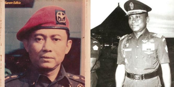 Jenderal Sarwo Edhie terkenal sebagai pribadi sederhana