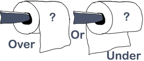 Tisu ditarik dari atas atau bawah? Terungkap lewat dokumen tahun 1891
