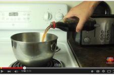 VIDEO: Menjijikkannya hasil rebusan minuman soda