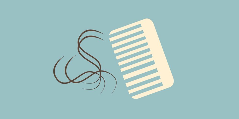 7 Mitos tentang rambut rontok yang selalu bikin cewek takut