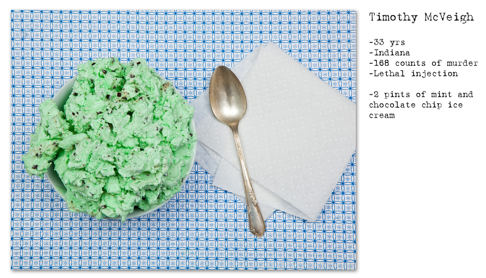 Ini dia 5 foto hidangan terakhir permintaan para terpidana mati