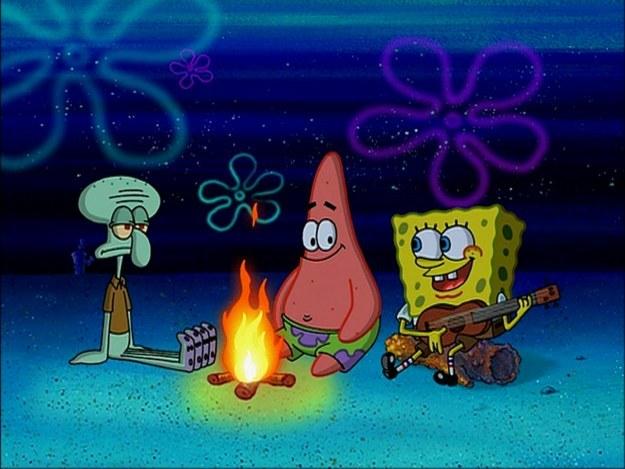 Nonton SpongeBob bisa menurunkan konsentrasi balita