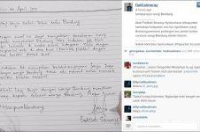Cowok ini akhirnya minta maaf ke Kang Emil gara-gara dibully netizen