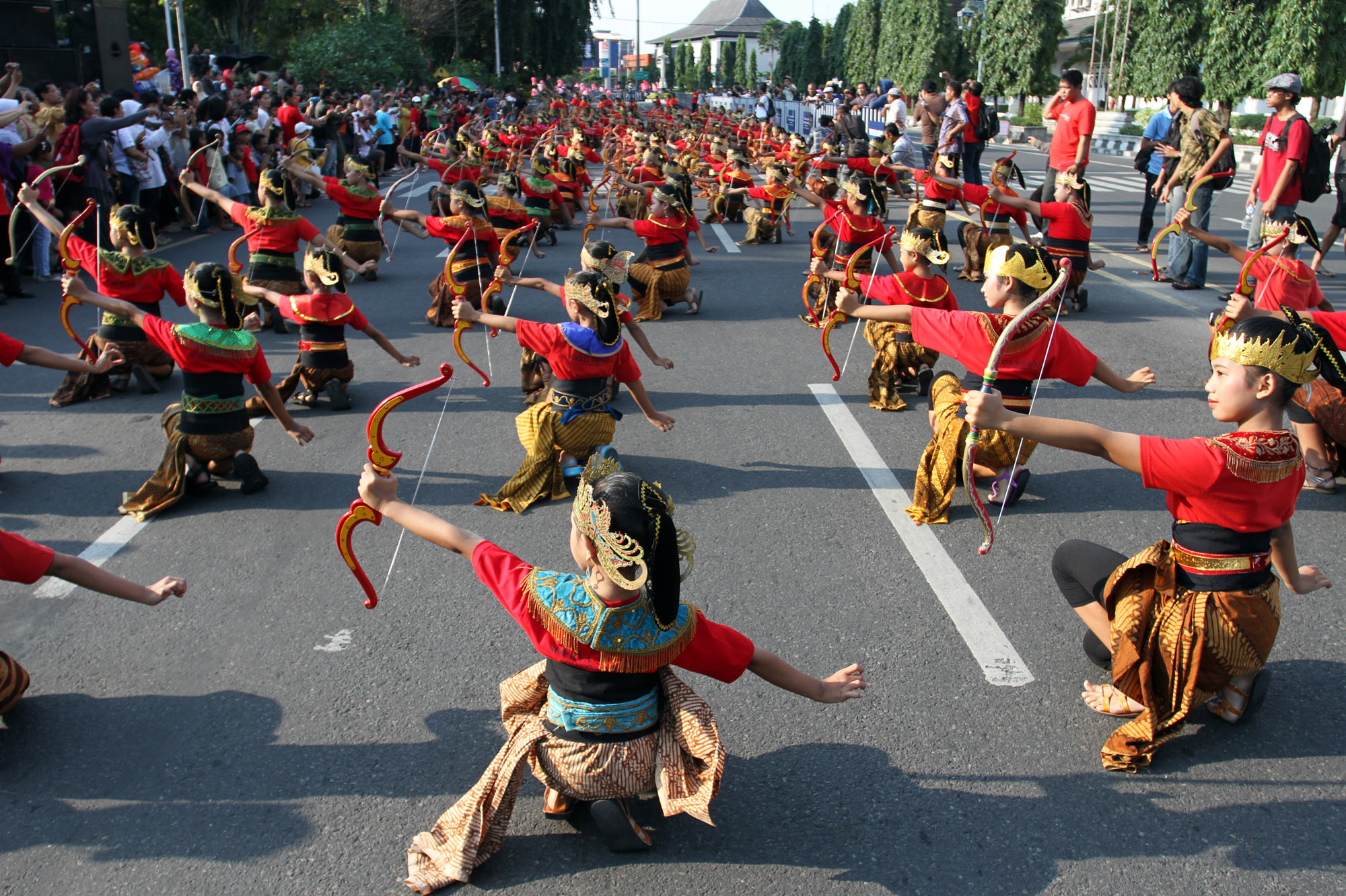 Menari 24 jam, tradisi Kota Solo tiap 29 April