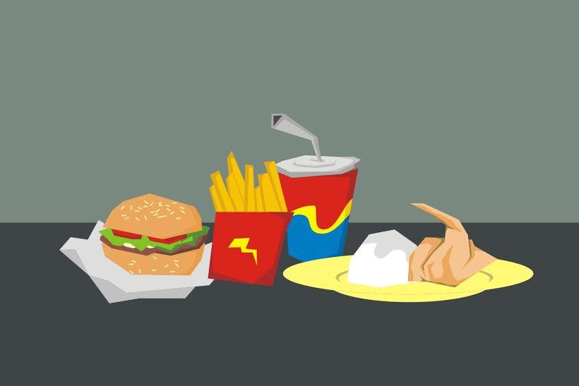 Anak yang sering makan fast food tingkat kecerdasannya lebih rendah