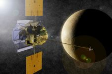 Pesawat NASA tabrak Merkurius ciptakan kawah sebesar 16 meter
