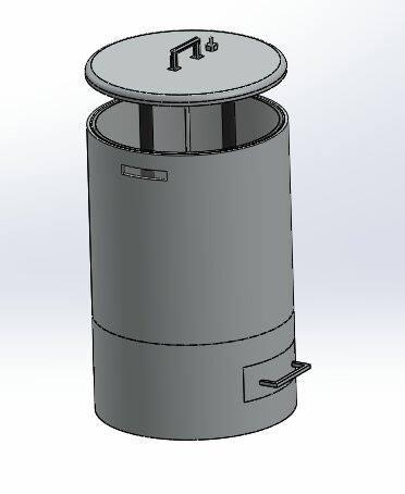 Cairan limbah batik bisa didaur ulang dengan alat buatan mahasiswa UII