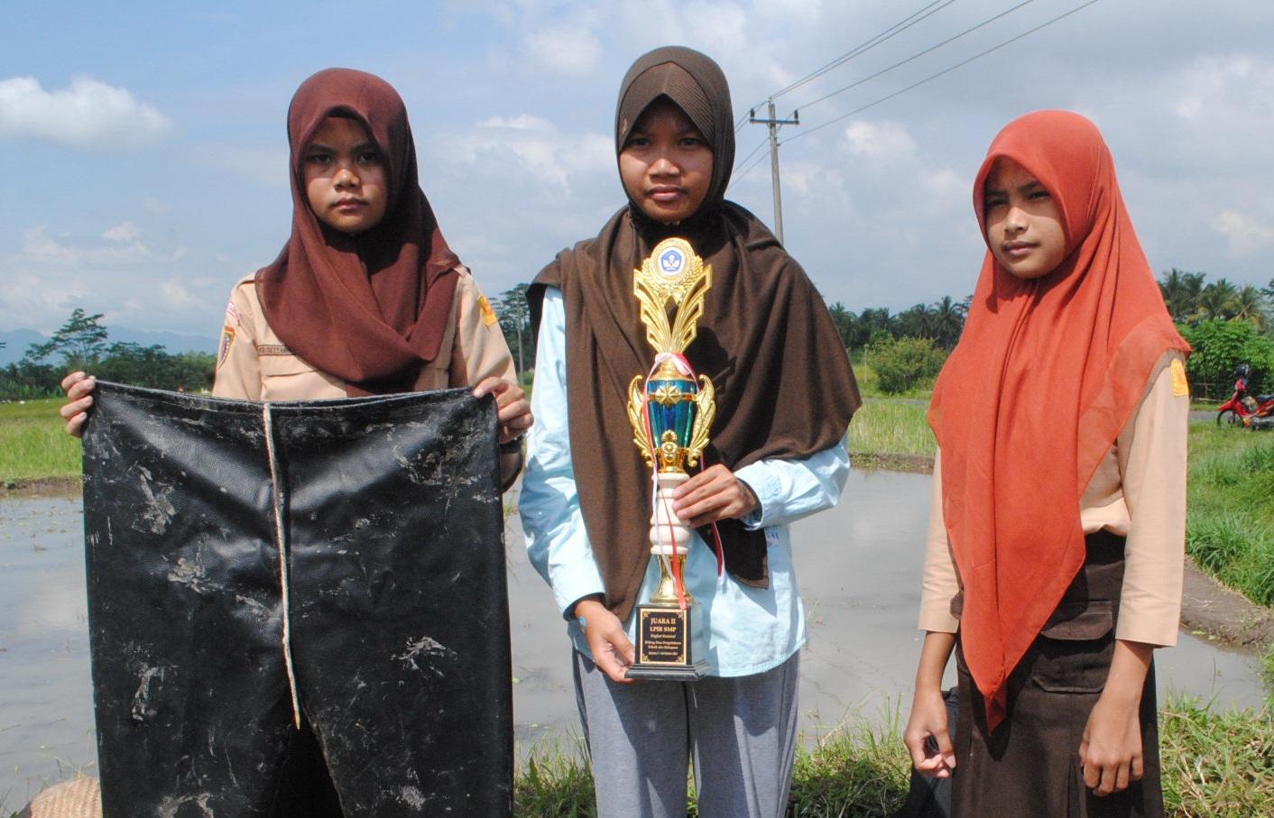 'Celpa' bikinan anak SMP Magelang ini bantu petani kerja aman di sawah