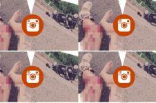 Selfie setelah kecelakaan, ulah wanita ini disayangkan banyak orang