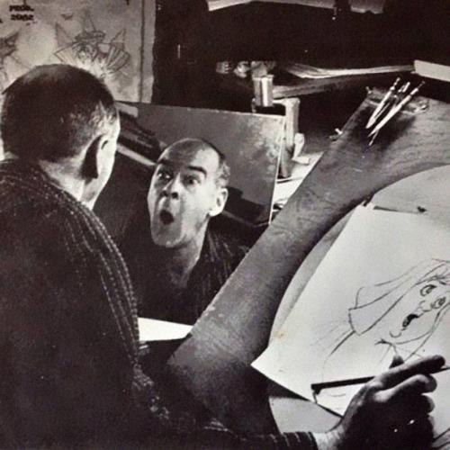 Ekspresi tokoh kartun ternyata mewakili ekspresi si pembuat