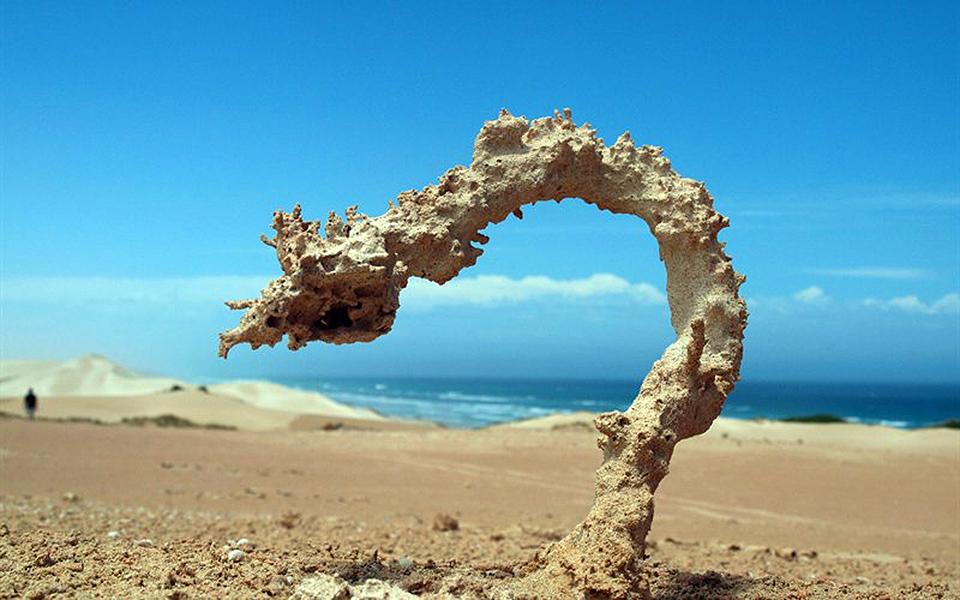 Ini yang terjadi ketika petir menyambar pasir, menakjubkan!