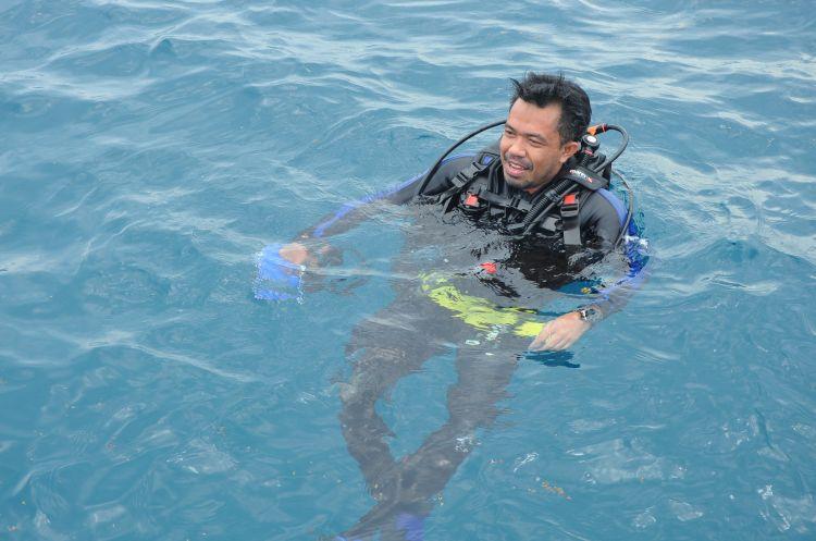 Kisah Pahadi, 4 tahun menyelam lautan dari Sabang sampai Merauke