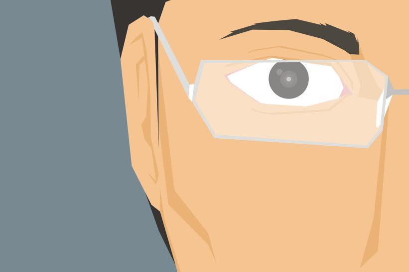Nggak perlu kacamata untuk atasi mata minus, jari tanganmu juga bisa!