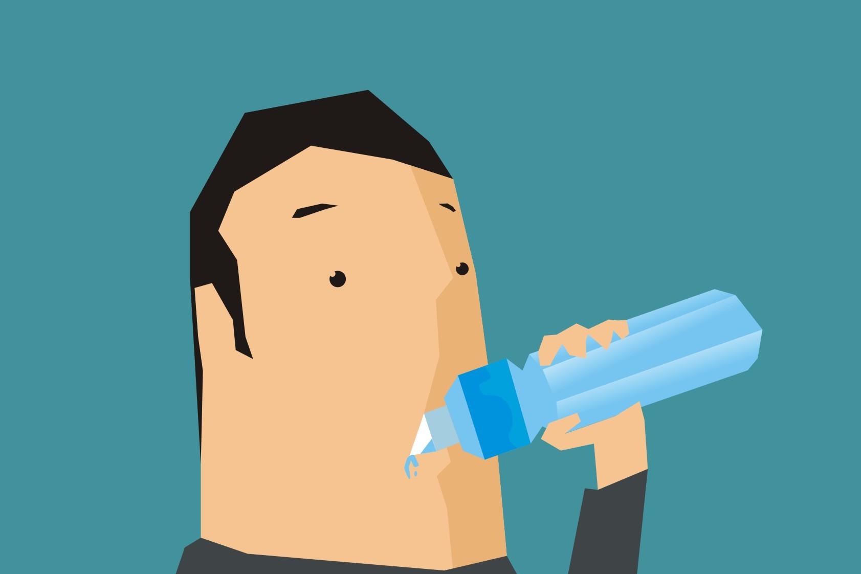13 Masalah serius kalau kamu ogah minum air putih, berbahaya!