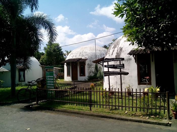 Kampung 'Teletubbies' Jogja ini satu-satunya di Asia Tenggara