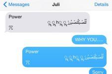 iPhone jadi nge-hang jika terima pesan huruf Arab? Ini penjelasannya