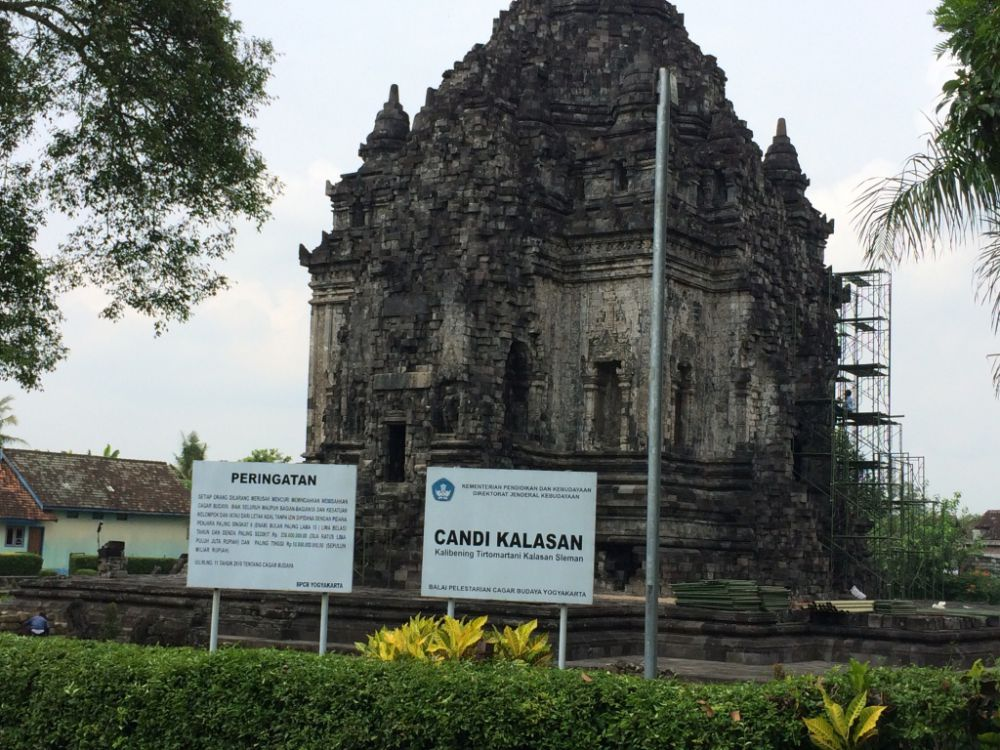 Menelisik bangunan candi Budha tertua di Jogja, Candi Kalasan