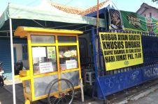 Kedai bubur ayam ini siapkan bubur gratisan untuk dhuafa tiap Jumat