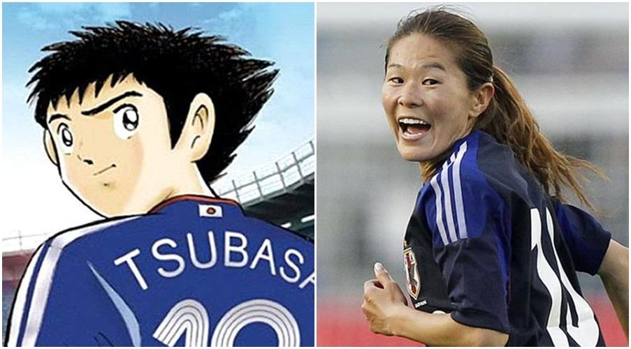 Ini Captain Tsubasa yang sesungguhnya versi pengarang, ternyata wanita