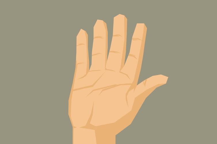 Seberapa cerdas kamu? Tak perlu tes IQ, cukup lihat bentuk tanganmu!