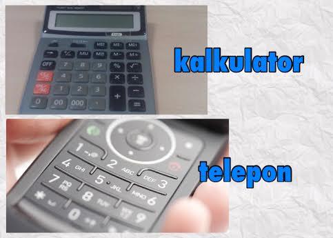 Ini alasan tombol angka telepon dan kalkulator berkebalikan