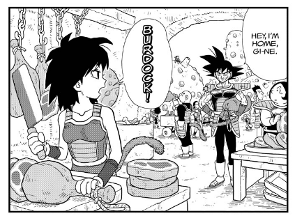Akhirnya misteri sosok ibu Son Goku terpecahkan