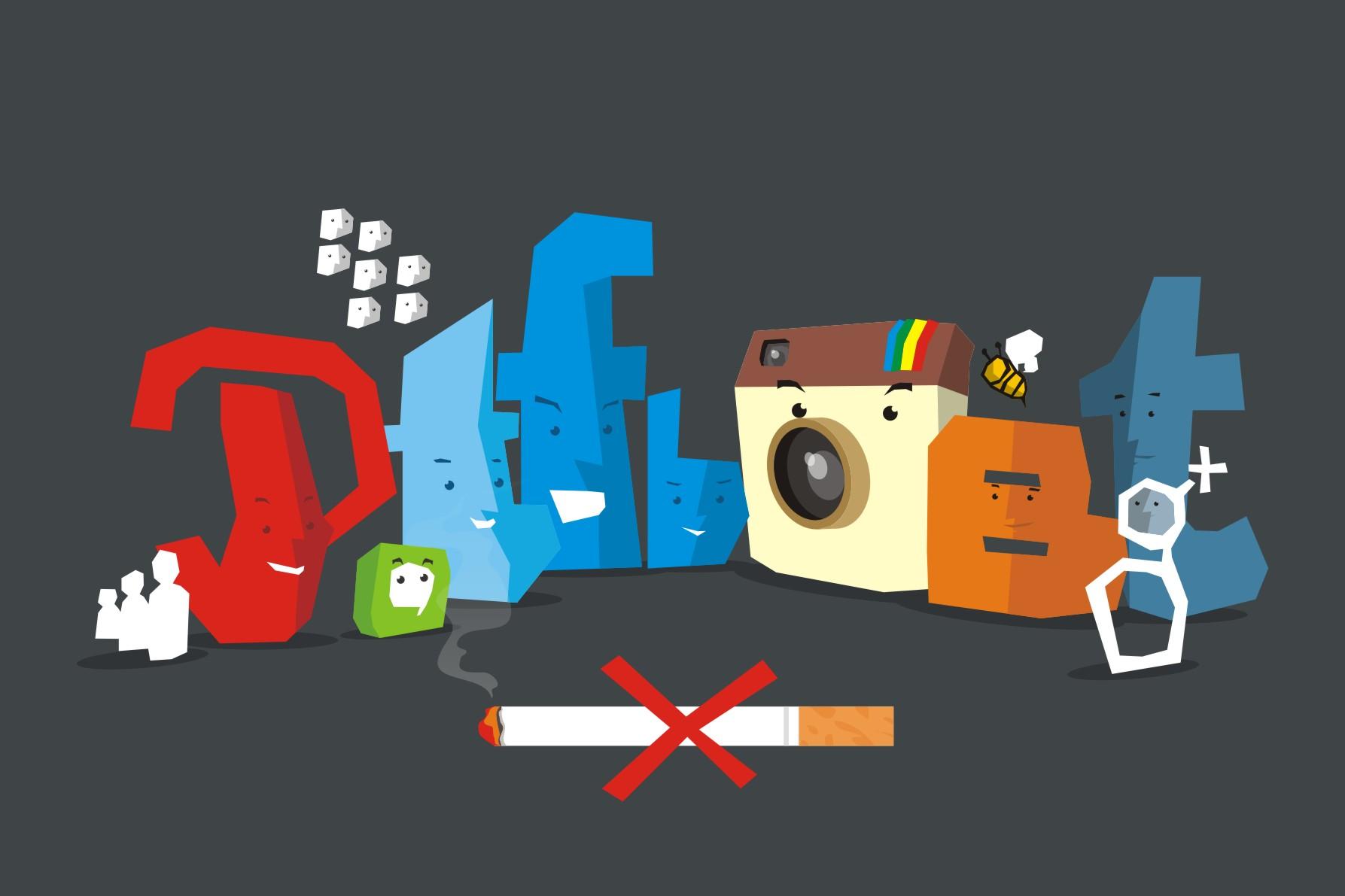 Media sosial terbukti bisa bantu hentikan kebiasaan merokok