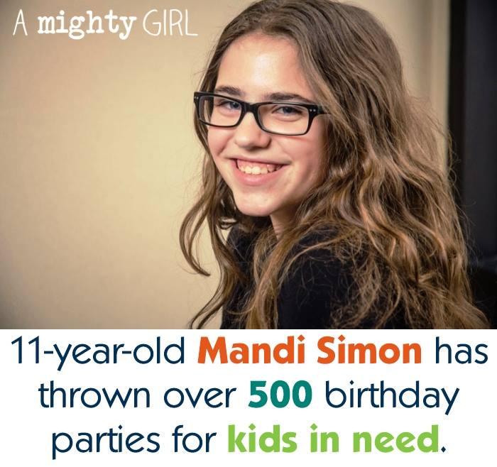 Usia 11 tahun, gadis ini sudah dirikan LSM untuk bantu anak miskin
