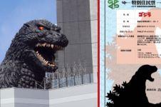 Godzilla akhirnya diresmikan jadi warga Jepang lho, kok bisa ya?