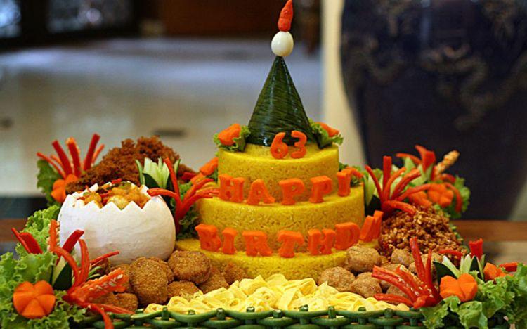 Ini makna sayuran dan lauk yang sering disajikan pada nasi ...