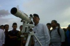 Ini proses pengamatan bulan untuk menentukan awal Ramadan dan Syawal