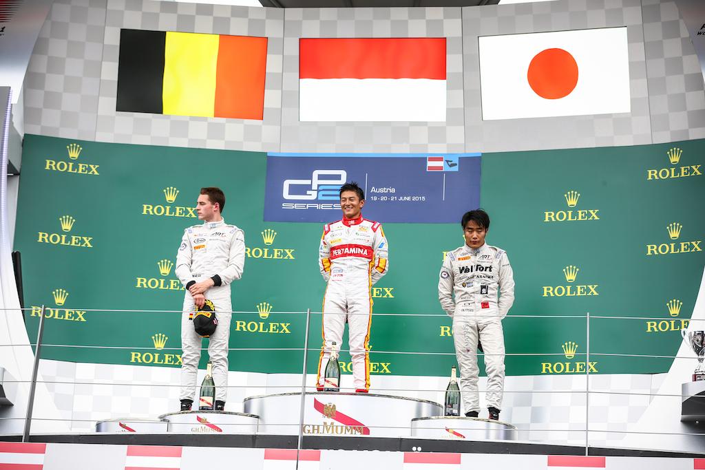 Brilio! Rio Haryanto juara GP2 di Austria