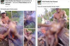 Netizen dibuat geram foto pembantaian orangutan